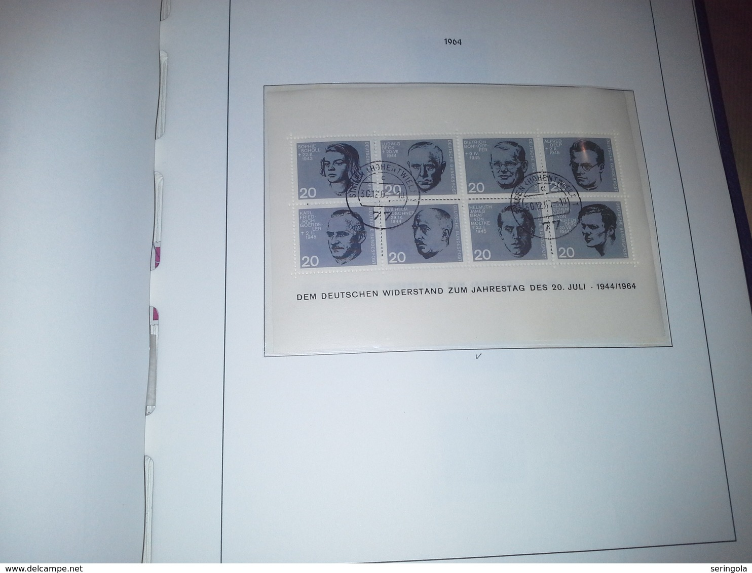 Samlung Leuchtturm Album Deutschland 1949-1979 - Sammlungen (im Alben)