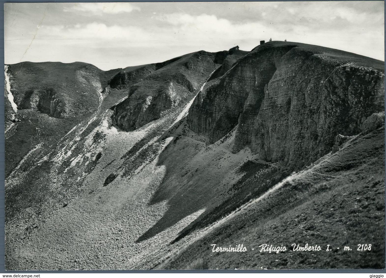 °°° Cartolina N. 24 Terminillo Rifugio Umberto I Viaggiata °°° - Rieti