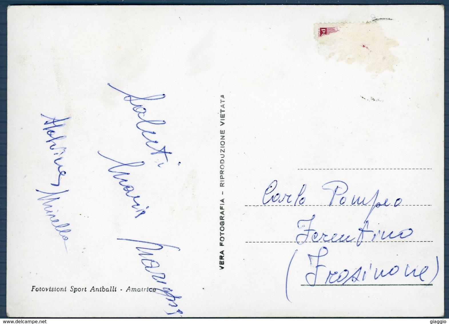 °°° Cartolina N. 35 Amatrice Chiesa S. Agostino Viaggiata °°° - Rieti