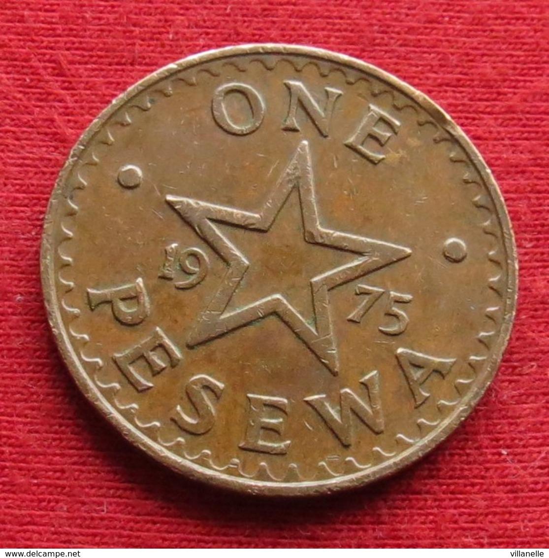 Ghana 1 One Pesewa 1975 KM# 13 Gana - Ghana