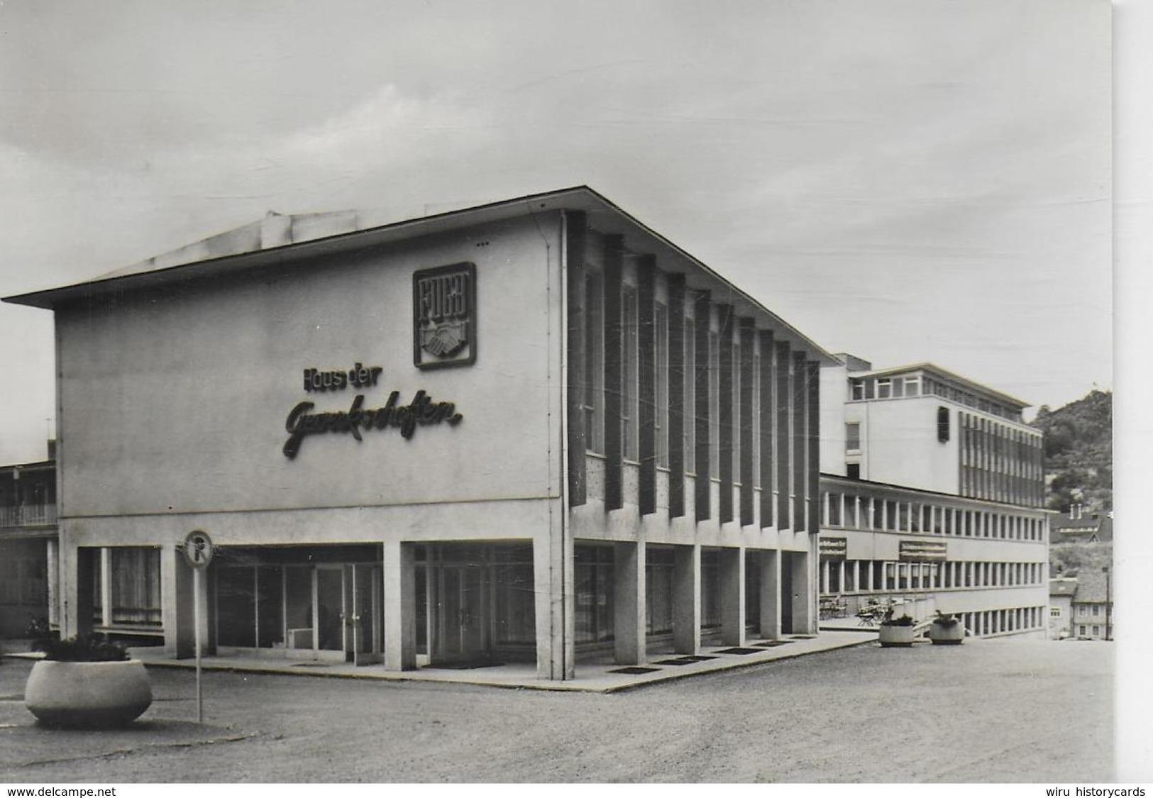 AK 0231  Suhl - Haus Der Gewerkschaften / Ostalgie , DDR Um 1966 - Suhl