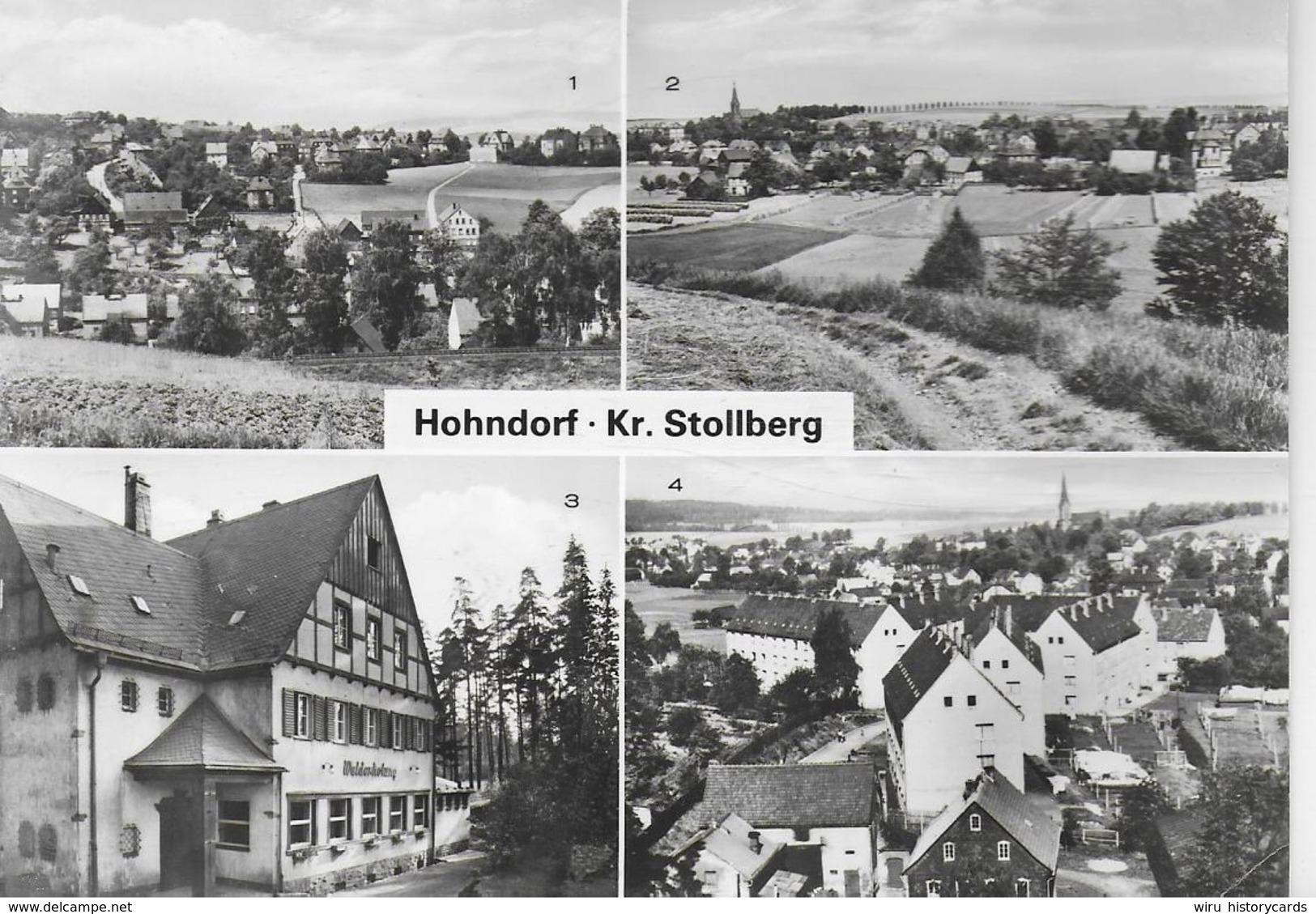 AK 0231  Hohndorf ( Kr. Stollberg ) / Ostalgie , DDR Um 1983 - Hohndorf