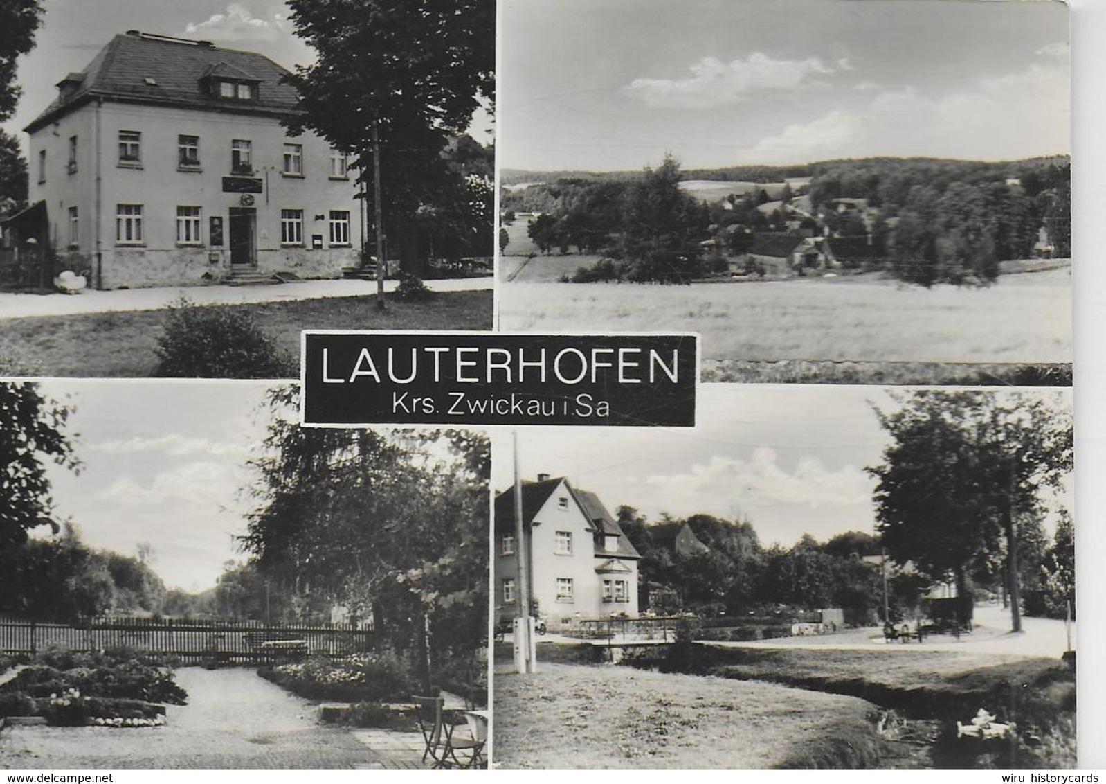 AK 0231  Lauterhofen ( Krs. Zwickau ) / Ostalgie , DDR Um 1967 - Zwickau