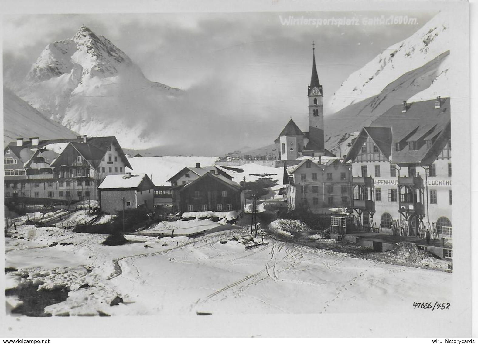 AK 0231  Galtür - Verlag Willi Hans Schwarz Ca. Um 1930 - Galtür