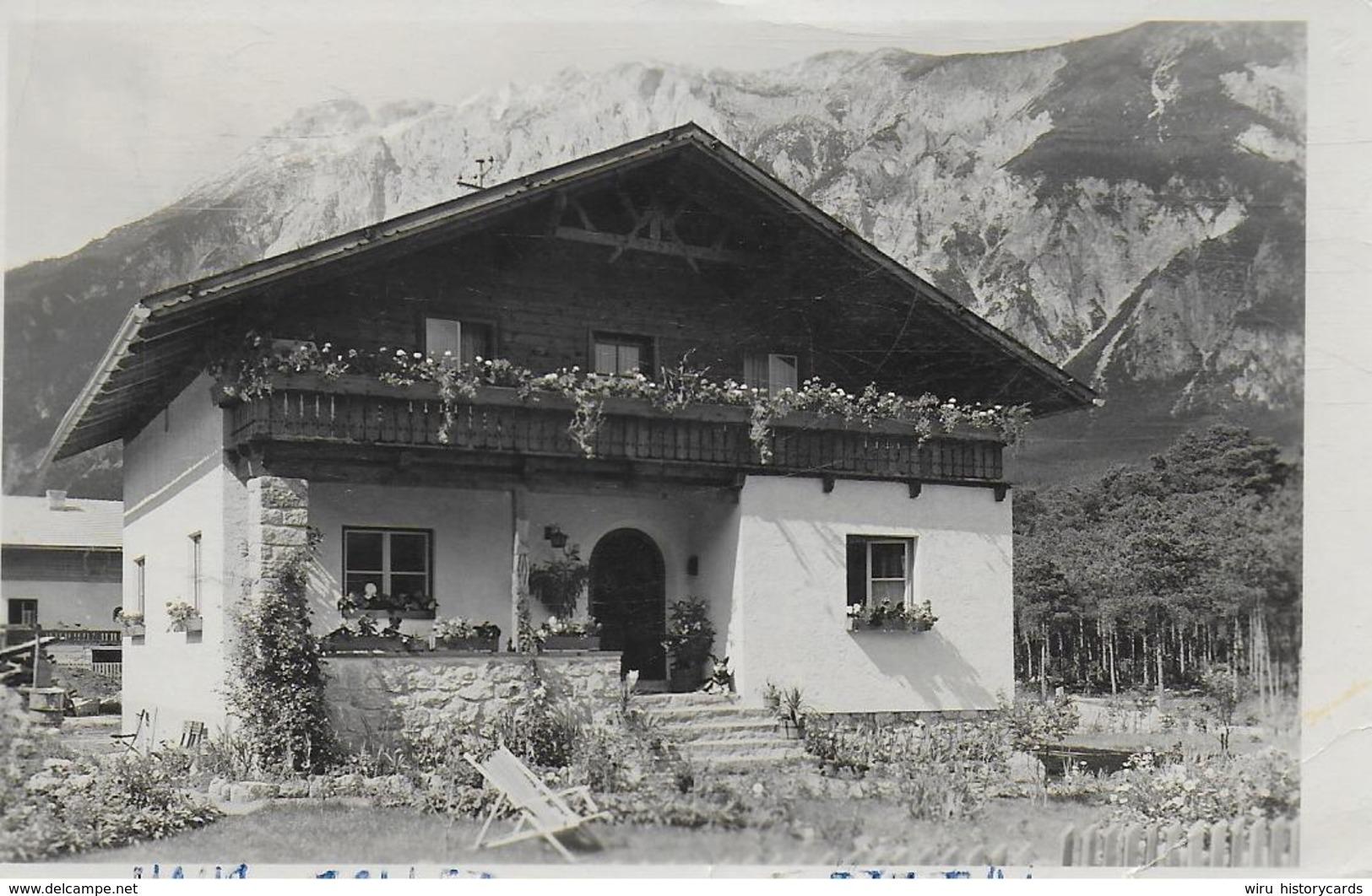 AK 0233  Ötztal - Haus Zoller Um 1950-60 - Oetz
