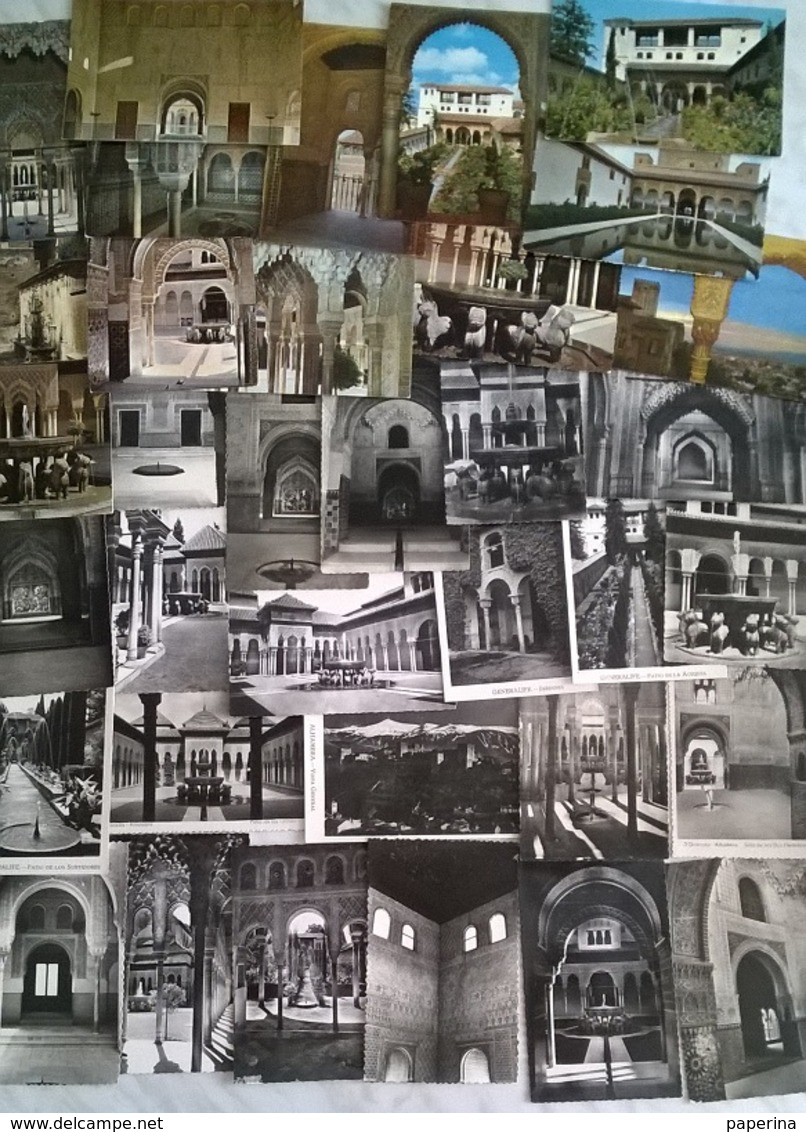 35 CART. GRANADA   (324) - Cartoline