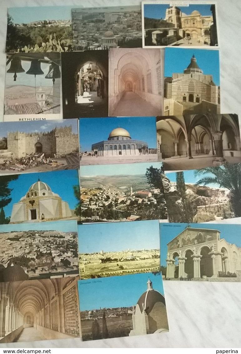 18 CART. ISRAELE   (325) - Cartoline