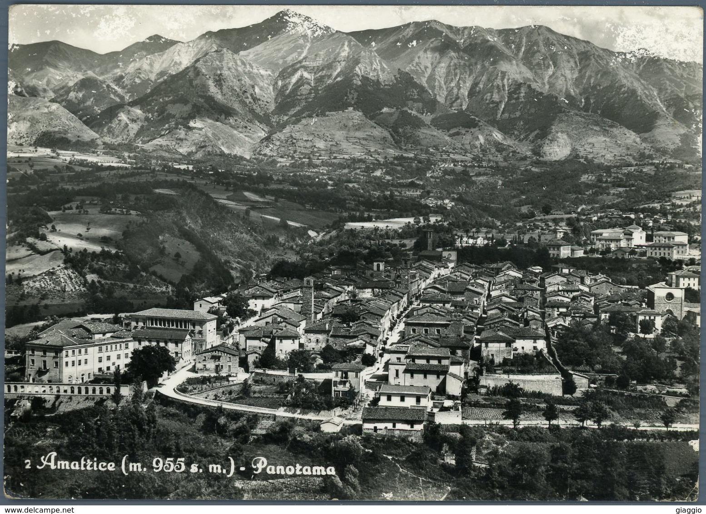 °°° Cartolina N. 43 Amatrice Panorama Viaggiata °°° - Rieti