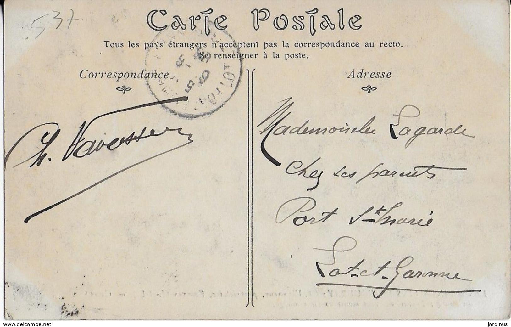 VOUVRAY :Les Grands Vins  - Vavasseur , Propiétaire Cave Du Bourg - Le Remuage-1908 - Vouvray