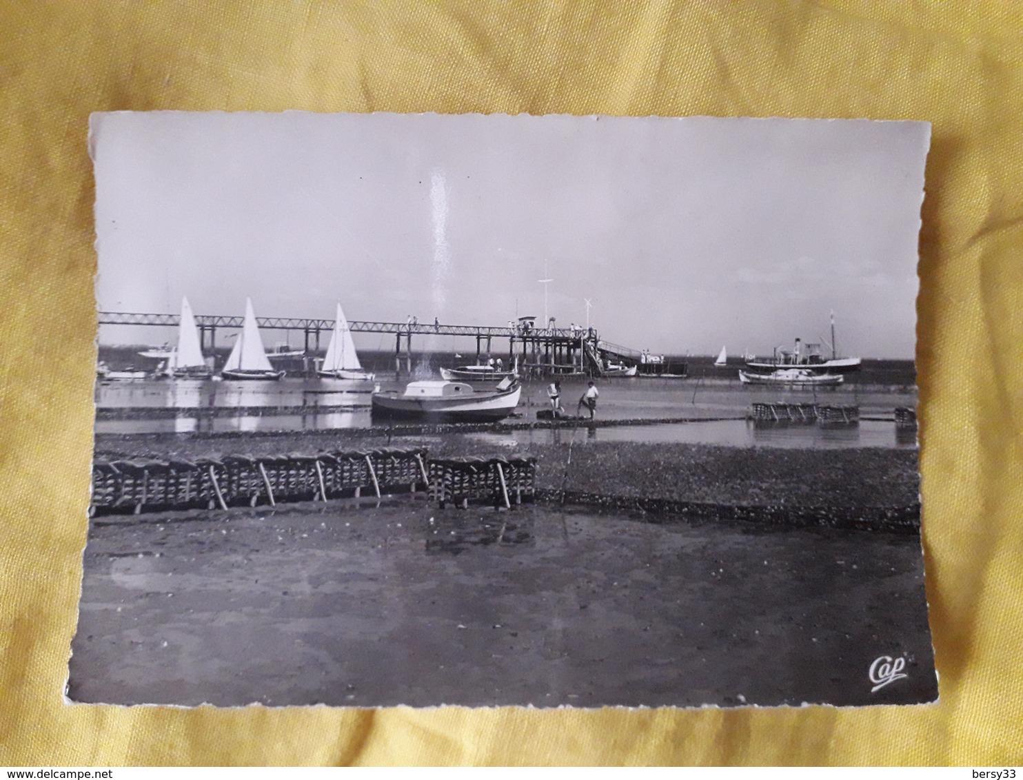 BASSIN D'ARCACHON - CAP FERRET - Carte Photo - Les Parcs à Huîtres Et La Jetée Bélisaire - France