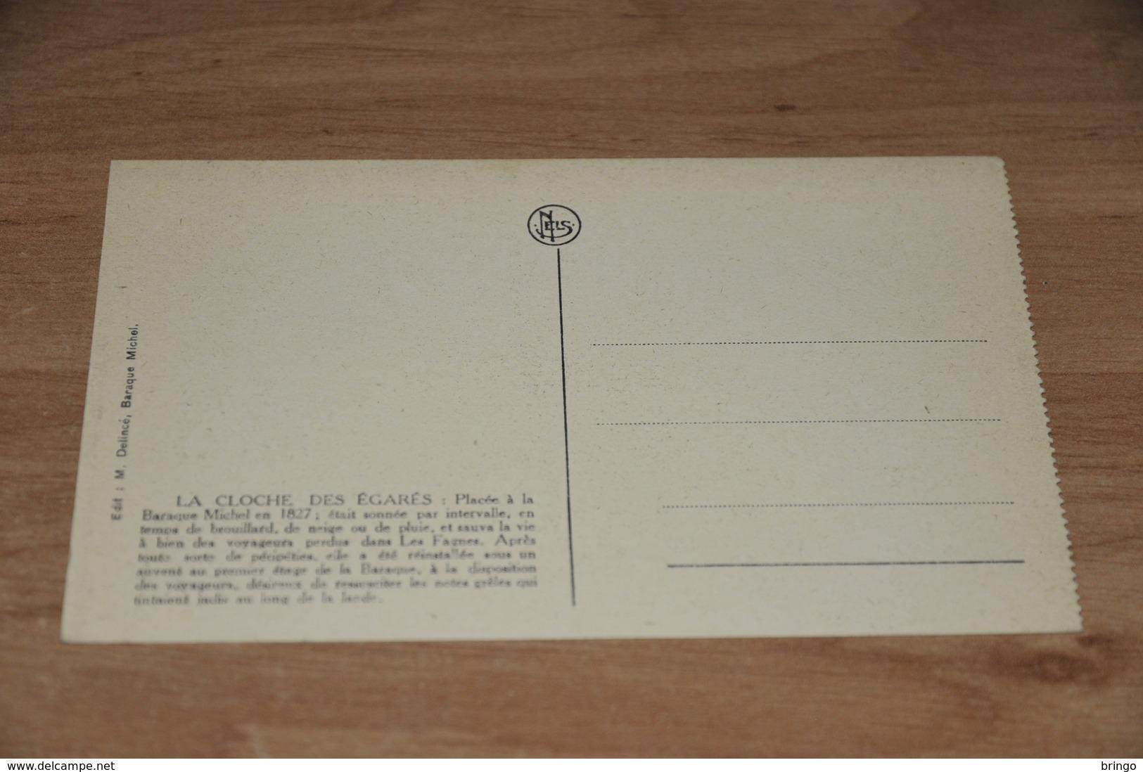 9564-    LES FAGNES, CLOCHE DE LA BARAQUE MICHEL - Jalhay