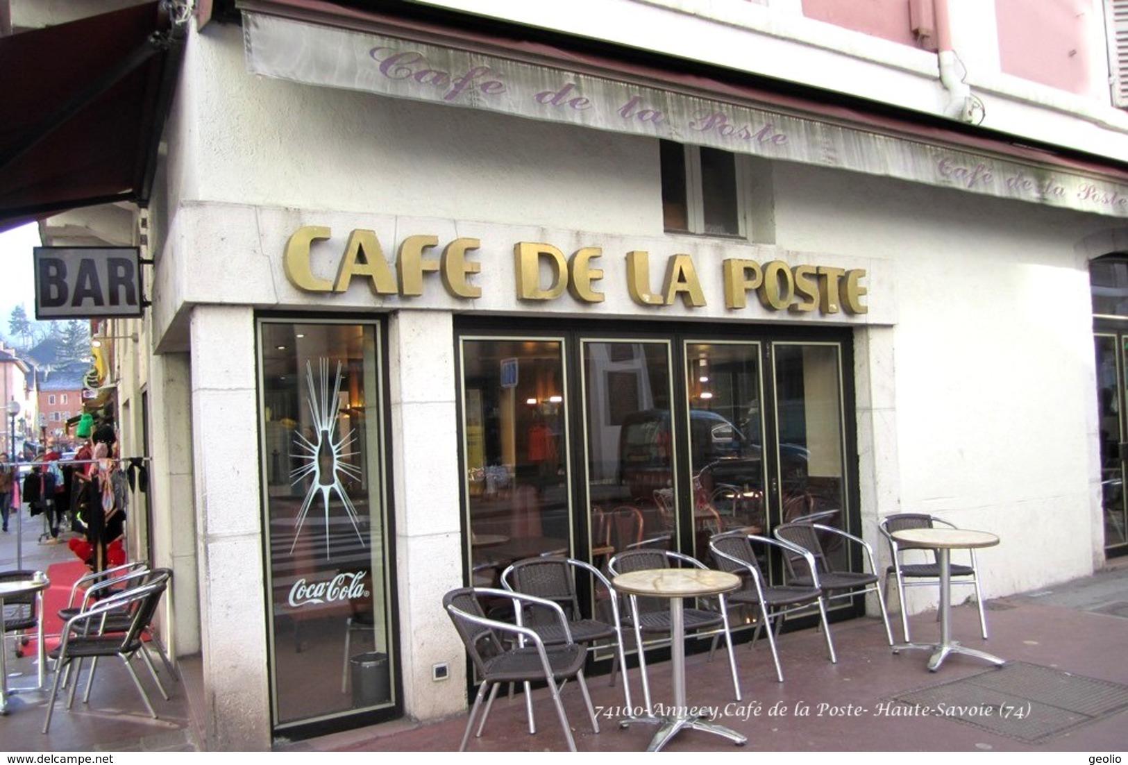 Annecy (74)- Café De La Poste (Edition à Tirage Limité) - Annecy