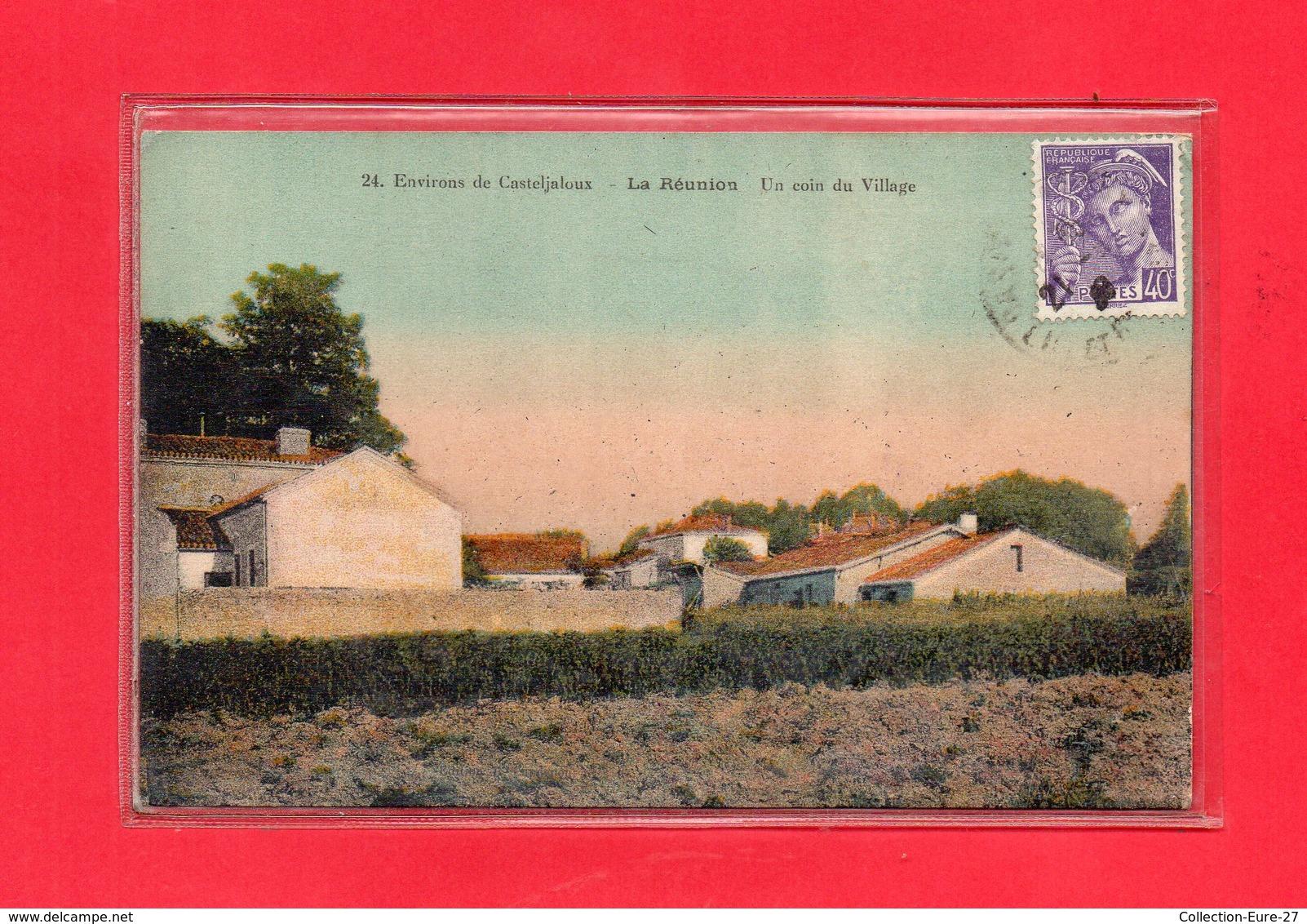47-CPA LA REUNION Près CASTELJALOUX - Autres Communes