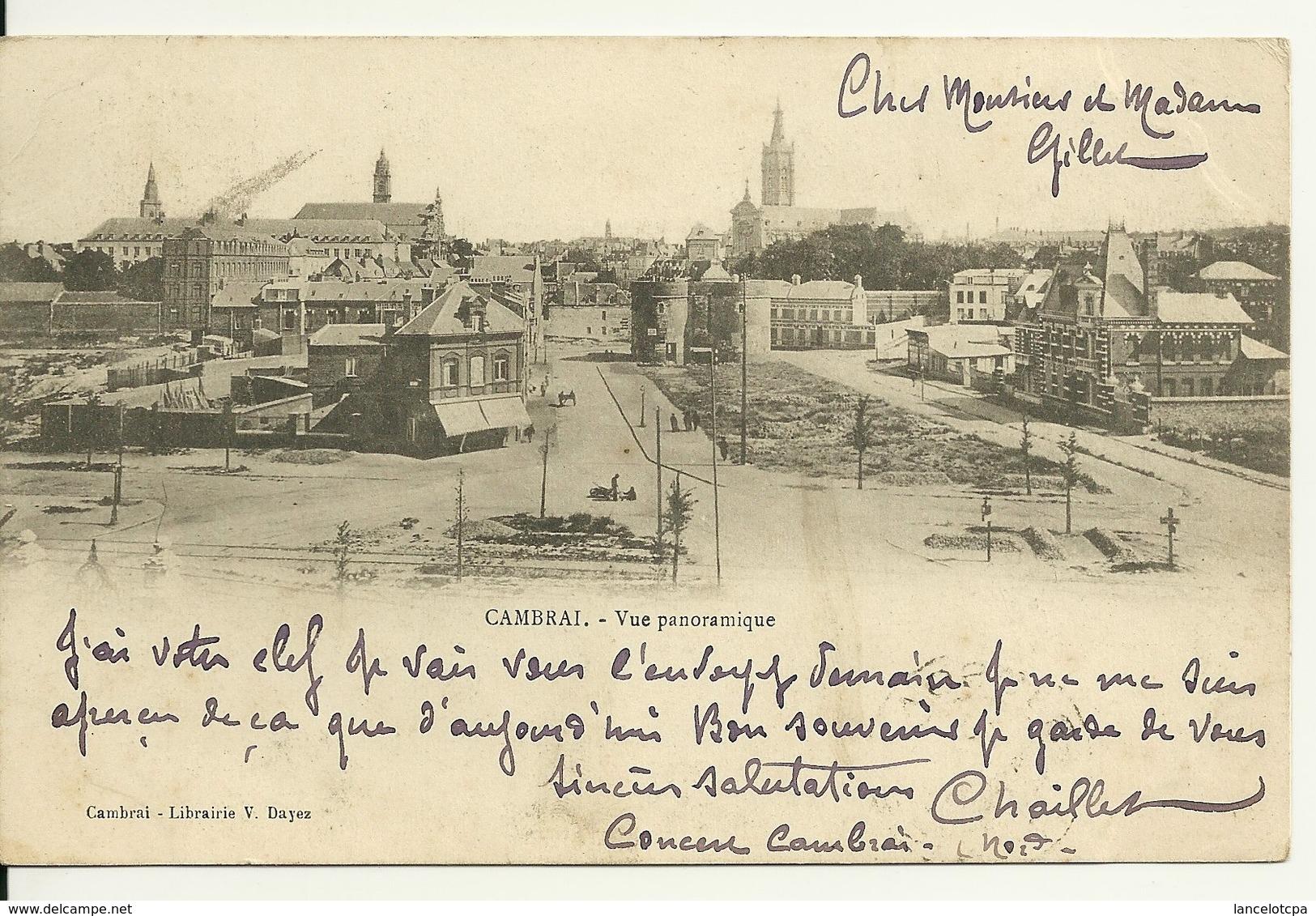 59 - CAMBRAI / VUE PANORAMIQUE - Cambrai