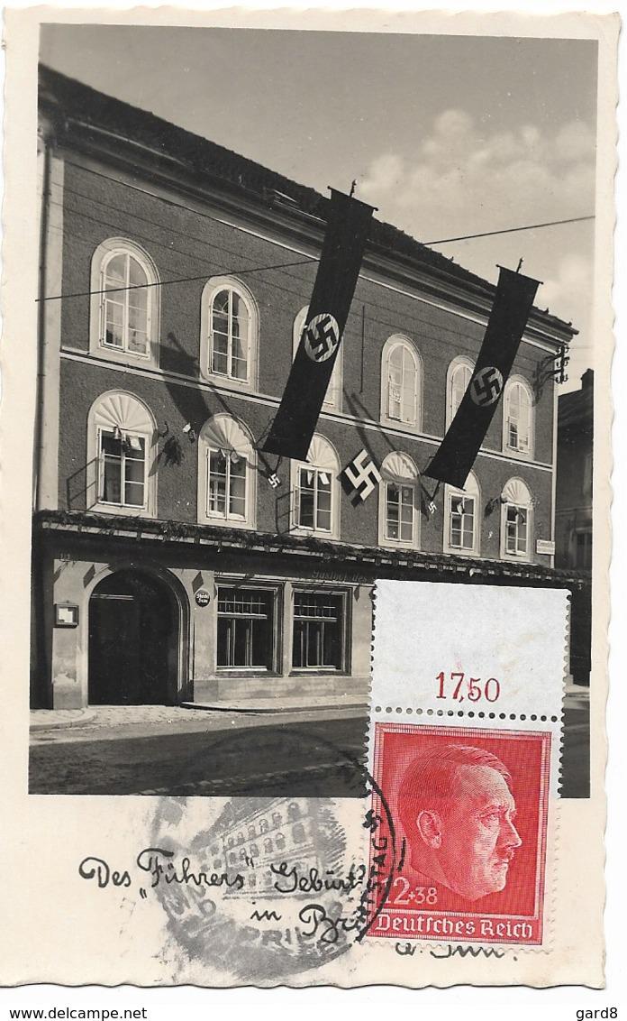 Braunau Am Inn  - Maison Natale De AH  - Propagande Du III Reich - Österreich