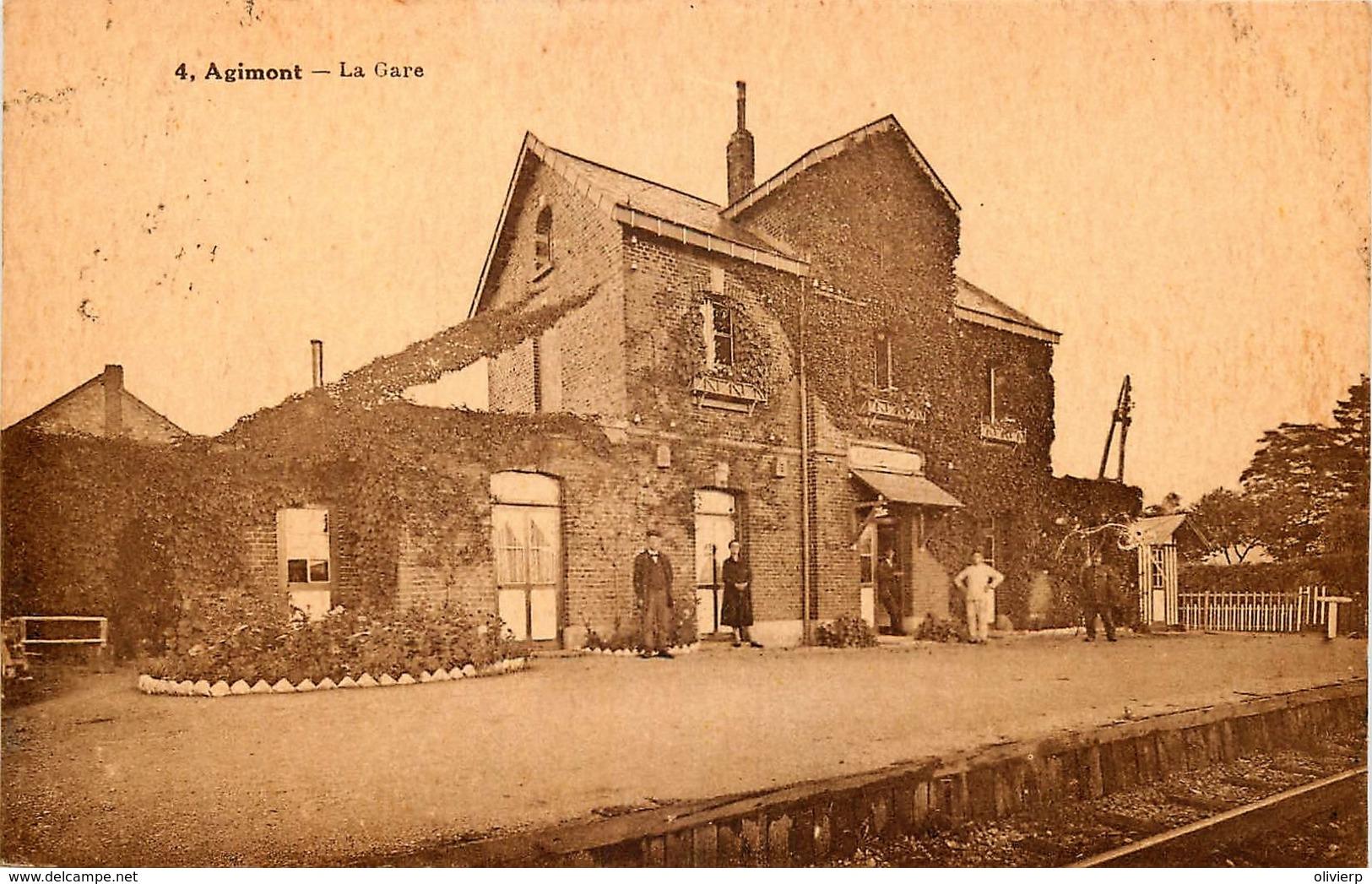 Belgique - Hastière - Agimont - La Gare - Hastiere