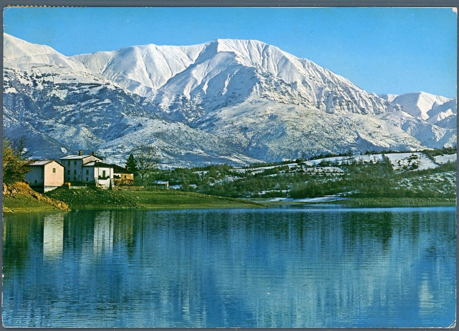 °°° Cartolina N. 59 Amatrice Lago Di Scandarello Viaggiata °°° - Rieti