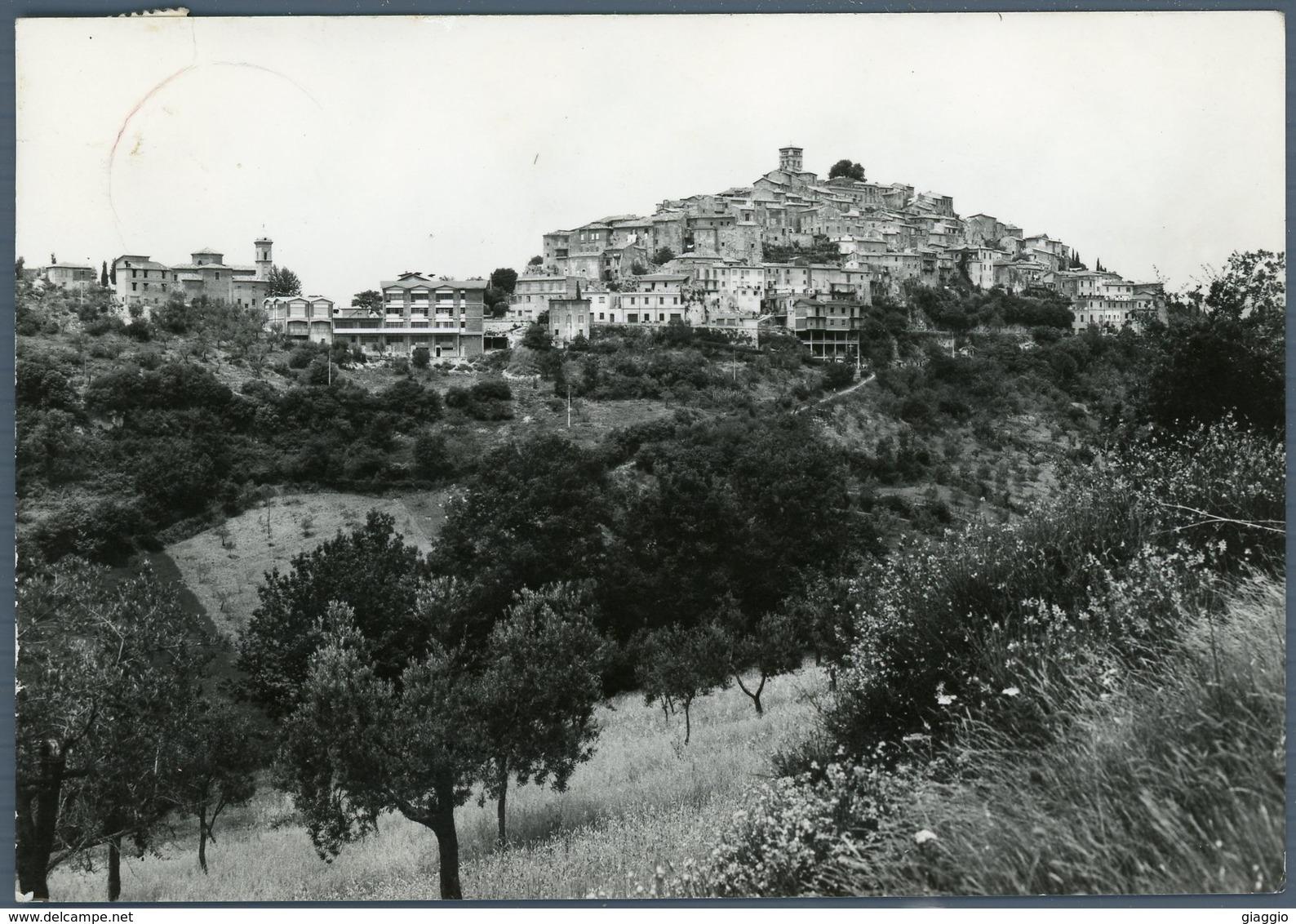 °°° Cartolina N. 62 Casperia Panorama Viaggiata °°° - Rieti