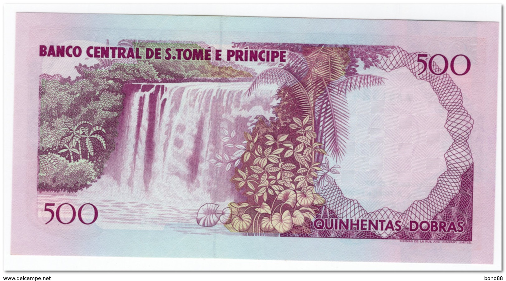 SAINT THOMAS & PRINCE,500 DOBRAS,1993,P.63,UNC - Sao Tome And Principe