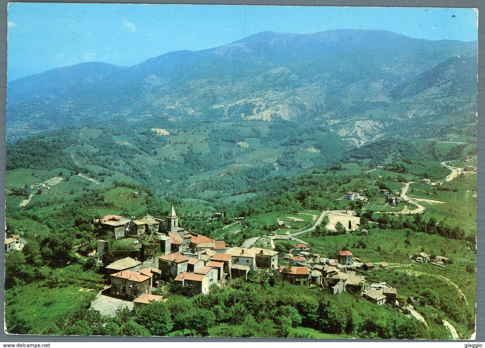 °°° Cartolina N. 66 Configni Panorama Viaggiata °°° - Rieti