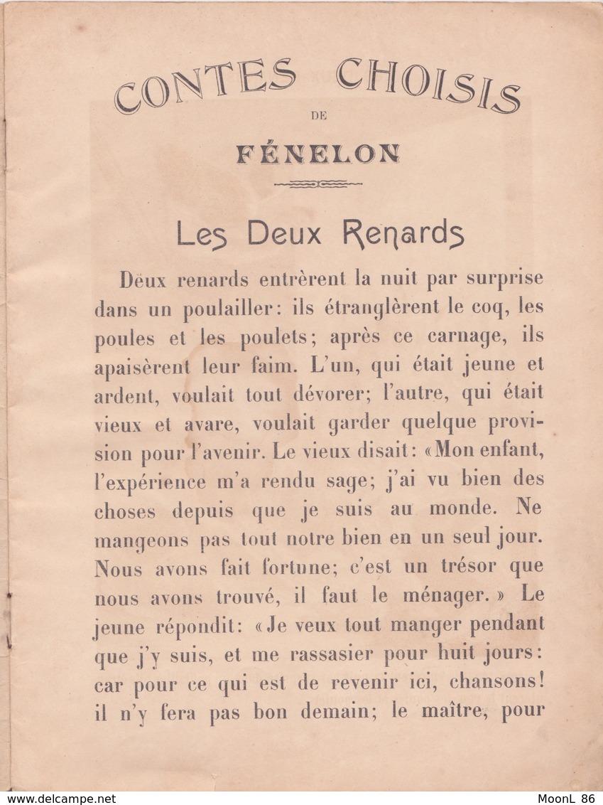 Ancien LIVRE - CONTES DE FENELON  - Série B - Imagerie Pellerin à Epinal - 19ème Siècle - Books, Magazines, Comics