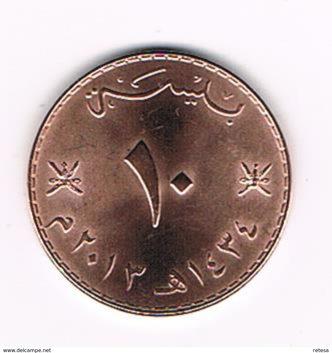 )  MUSCAT & OMAN  10 BAIZA  2013 ( 1434 ) - Oman