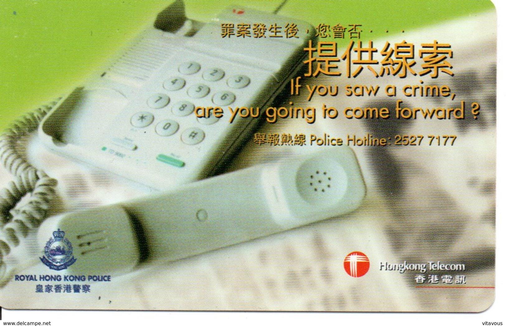 Téléphone Télécarte Magnétique Hongkong Telecom  Phonecard  (G 115) - Hong Kong