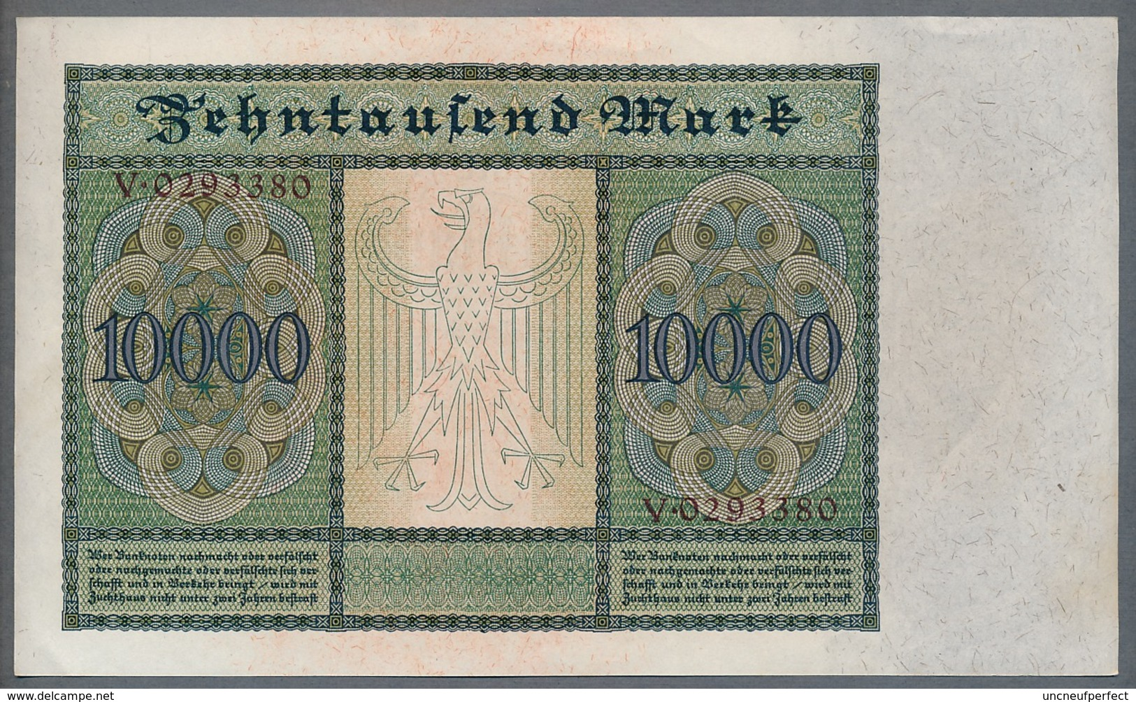 P 68a Ro 70 DEU-76  10000 Mark 1922 AUNC+ Pas De Plis! - 10000 Mark