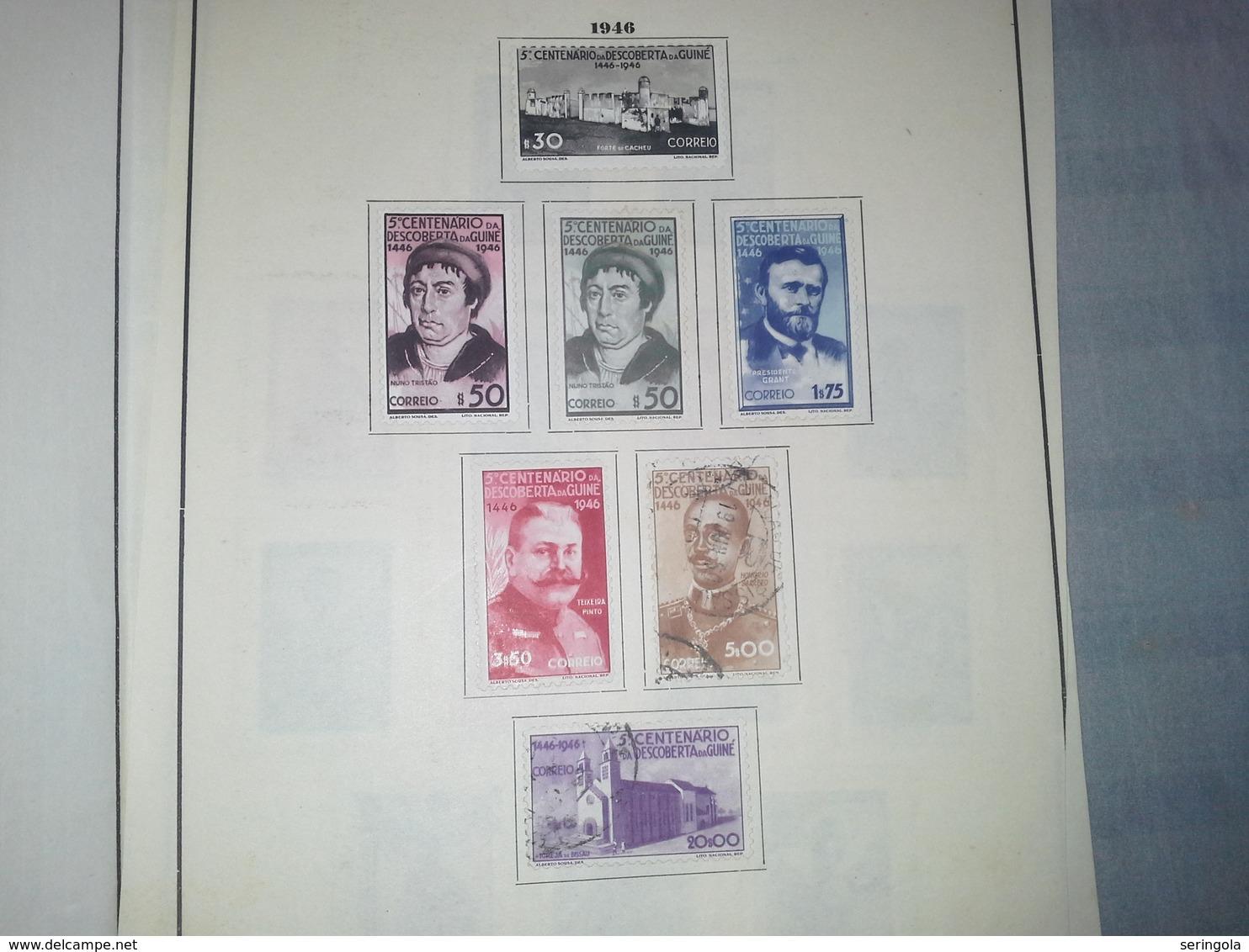 Smail Lot GUINE  Portuguesa 1946-1954 - Briefmarken