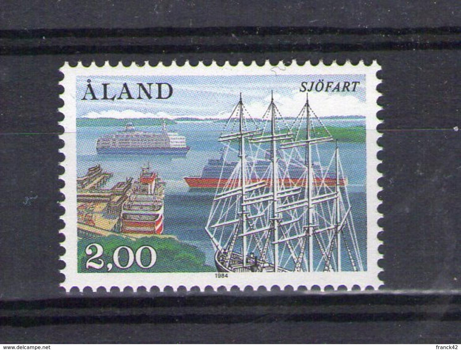 Aland. Navigation Et Armement Maritimes. 1984 - Aland
