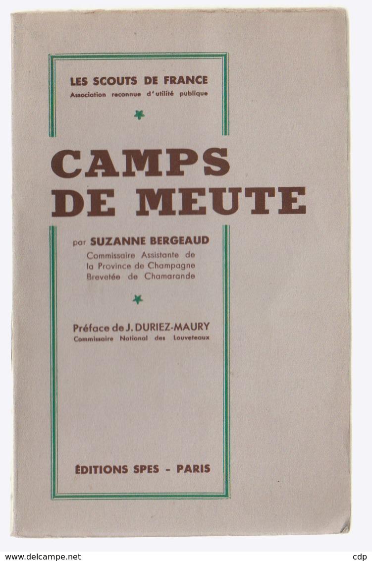 Scoutisme  Camps De Meute   1938 - Scouting