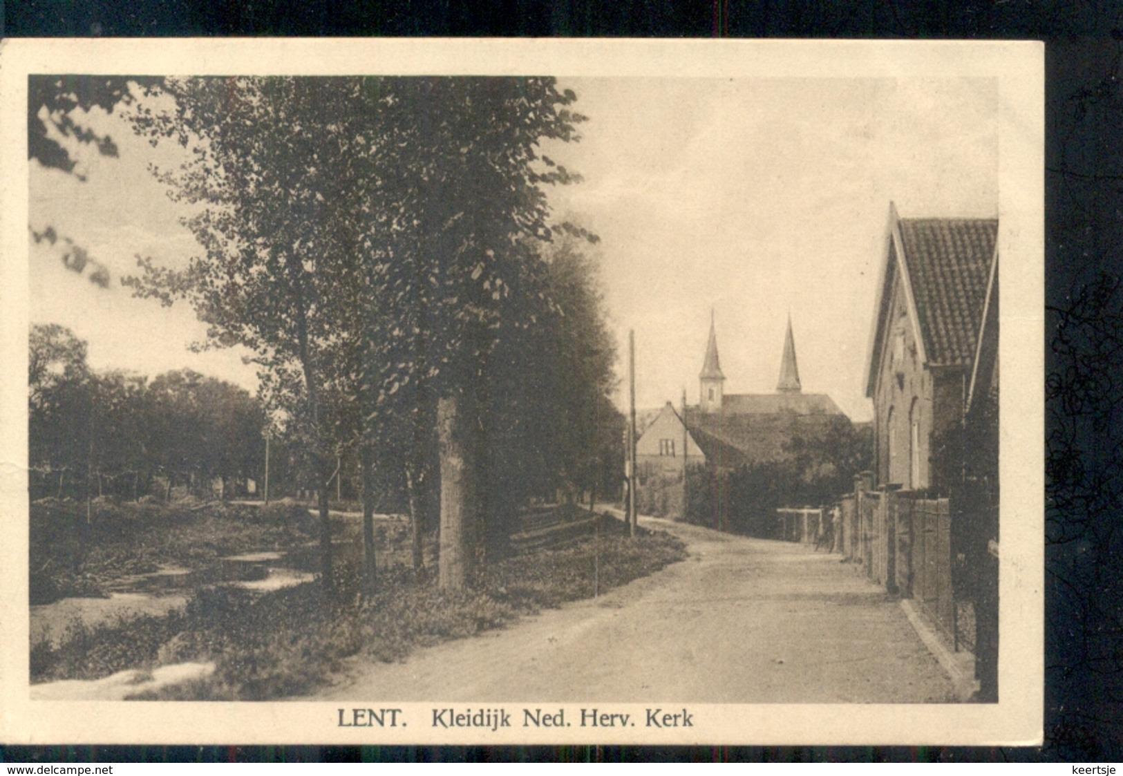 Lent - Kleidijk Ned Herv Kerk - 1930 Nijmegen - Autres