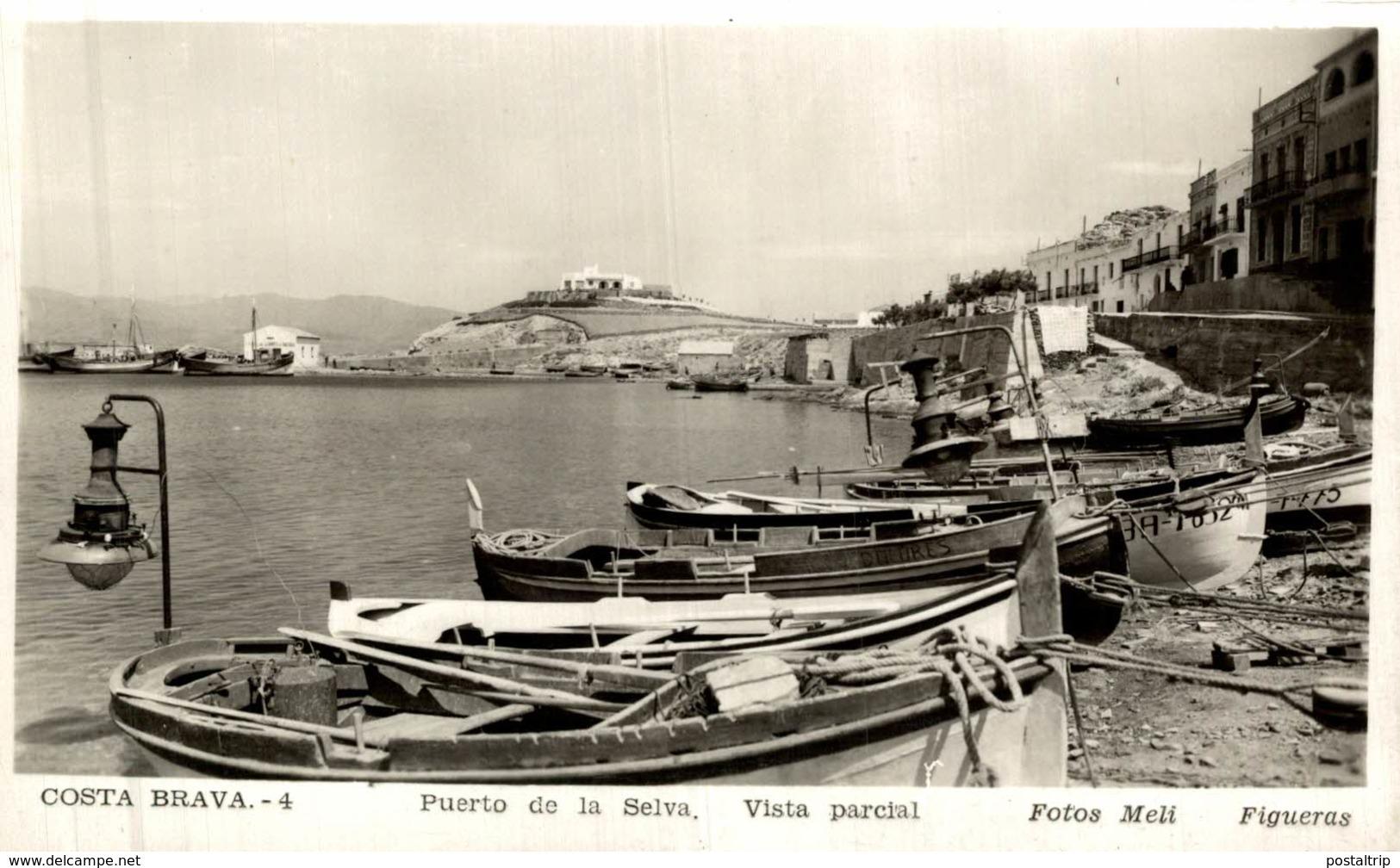 PUERTO DE LA SELVA VISTA PARCIAL - Gerona
