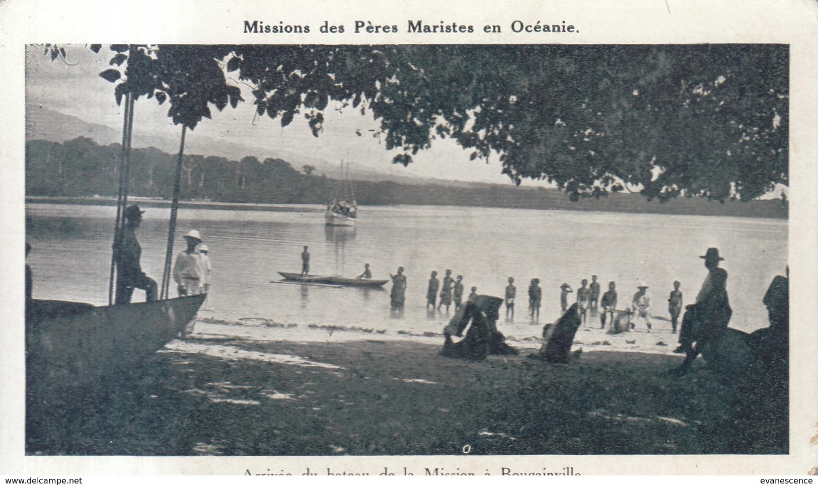 ILES SALOMON / BOUGAINVILLE  / Petit Défaut Bord Droit   ///  REF MAI 19 .  N° 8652 - Salomon