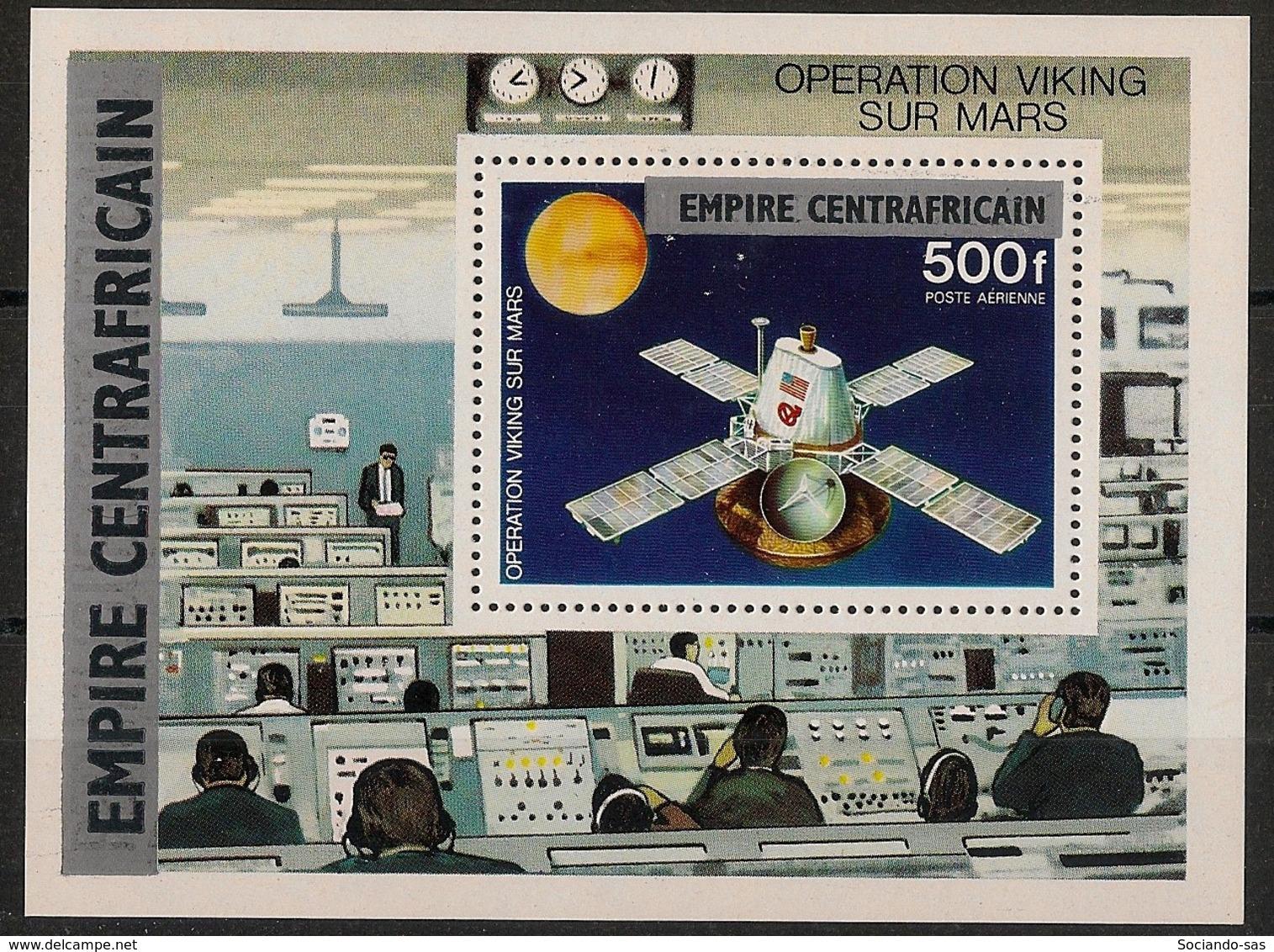 Centrafricaine - 1977 - Bloc Feuillet BF N°Yv. 18 - Opération Viking - Neuf Luxe ** / MNH / Postfrisch - Zentralafrik. Republik