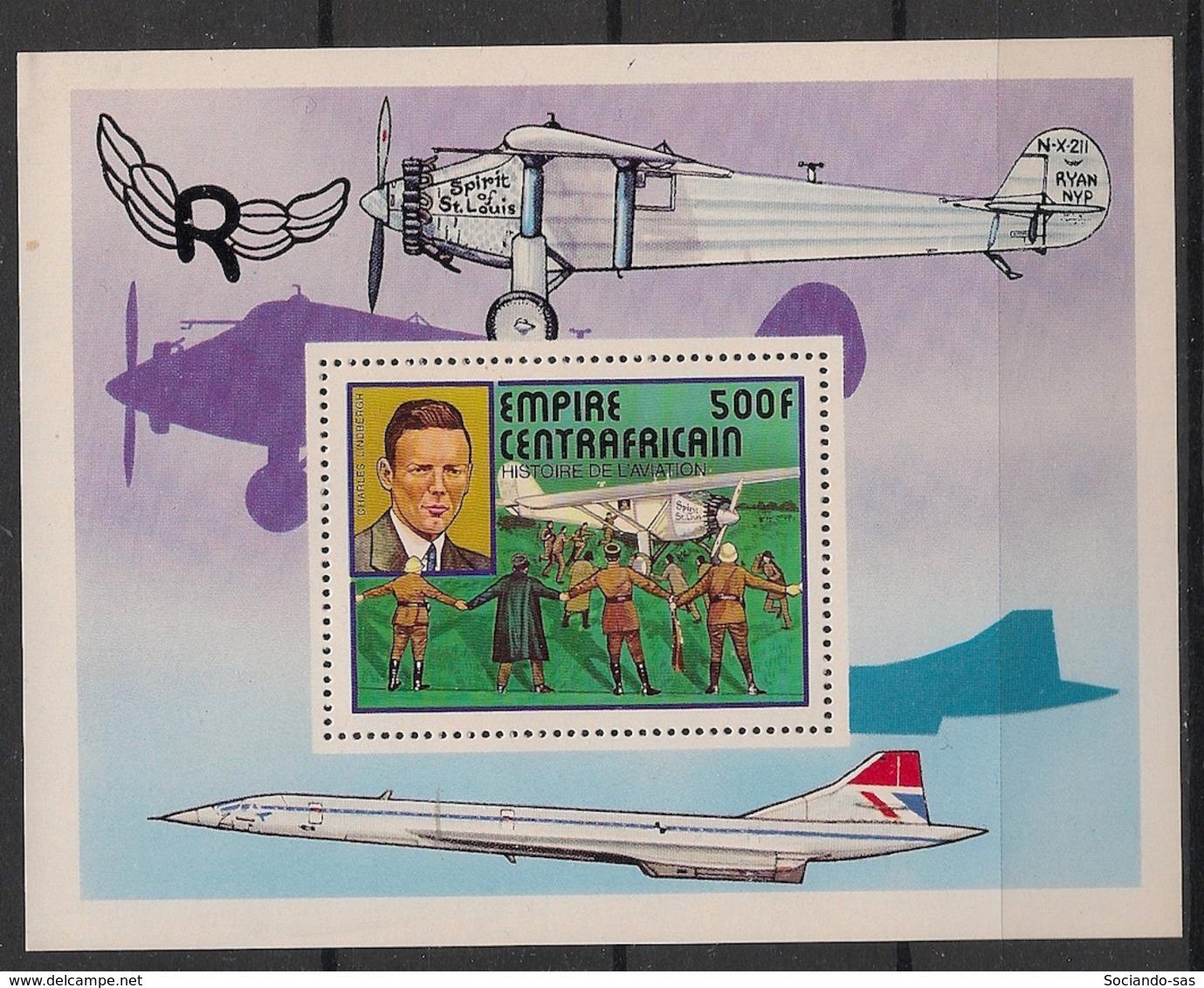 Centrafricaine - 1977 - Bloc Feuillet BF N°Yv. 19 - Concorde - Neuf Luxe ** / MNH / Postfrisch - Zentralafrik. Republik