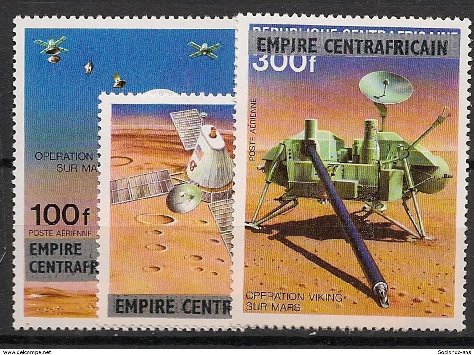 Centrafricaine - 1977 - Poste Aérienne PA N°Yv. 178 à 180 - Opération Viking - Neuf Luxe ** / MNH / Postfrisch - Zentralafrik. Republik
