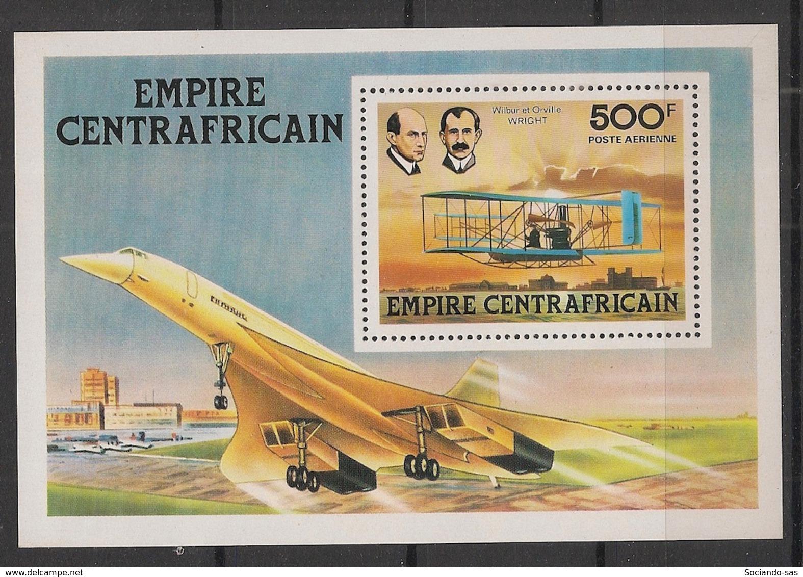 Centrafricaine - 1978 - Bloc Feuillet BF N°Yv. 25 - Concorde - Neuf Luxe ** / MNH / Postfrisch - Zentralafrik. Republik