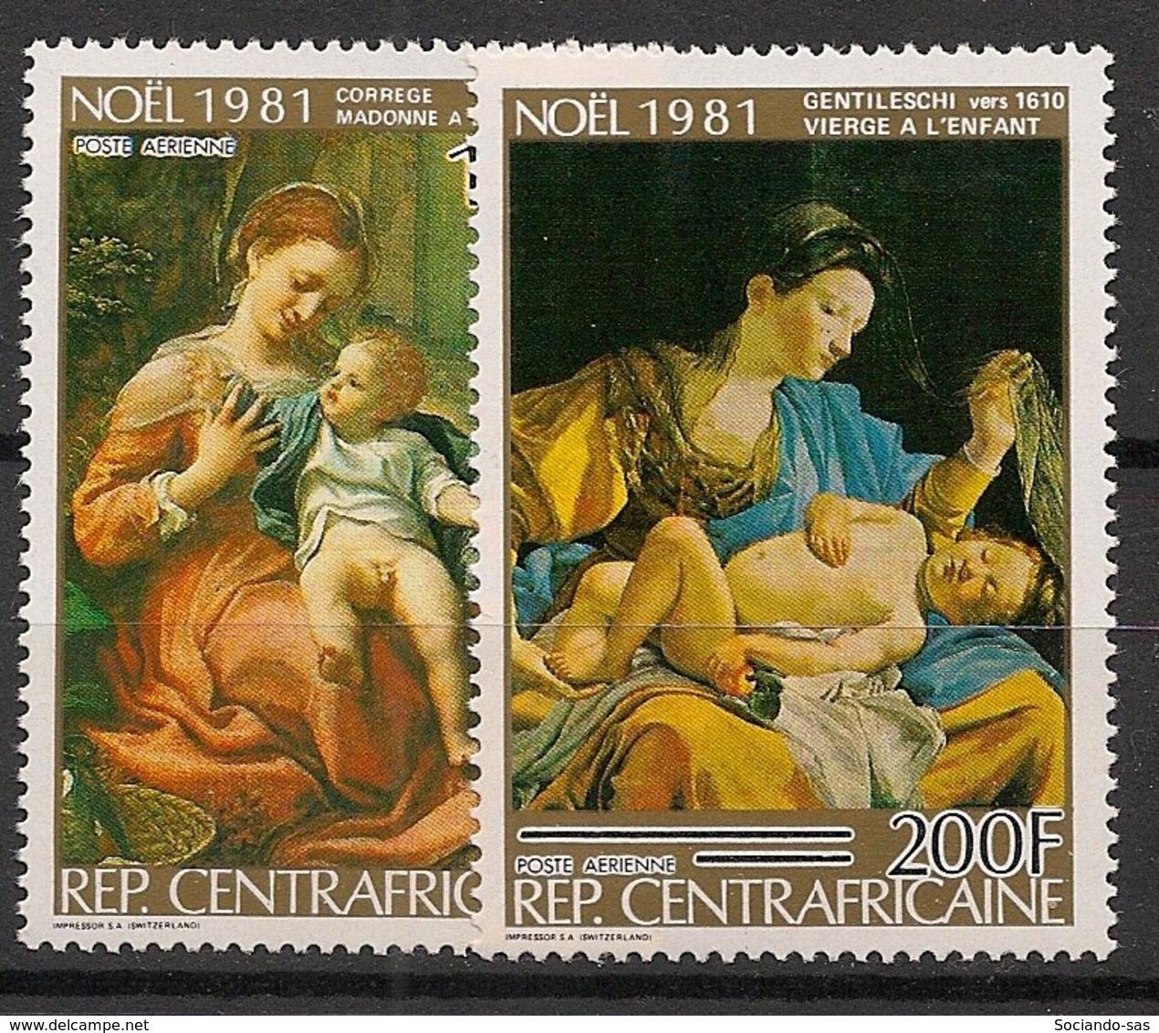 Centrafricaine - 1981 - Poste Aérienne PA N°Yv. 249 à 250 - Noel - Neuf Luxe ** / MNH / Postfrisch - Zentralafrik. Republik