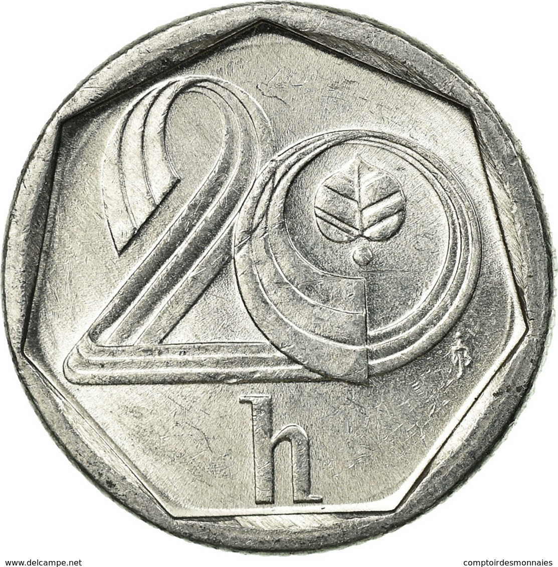 Monnaie, République Tchèque, 20 Haleru, 1996, TTB, Aluminium, KM:2.1 - Tchéquie