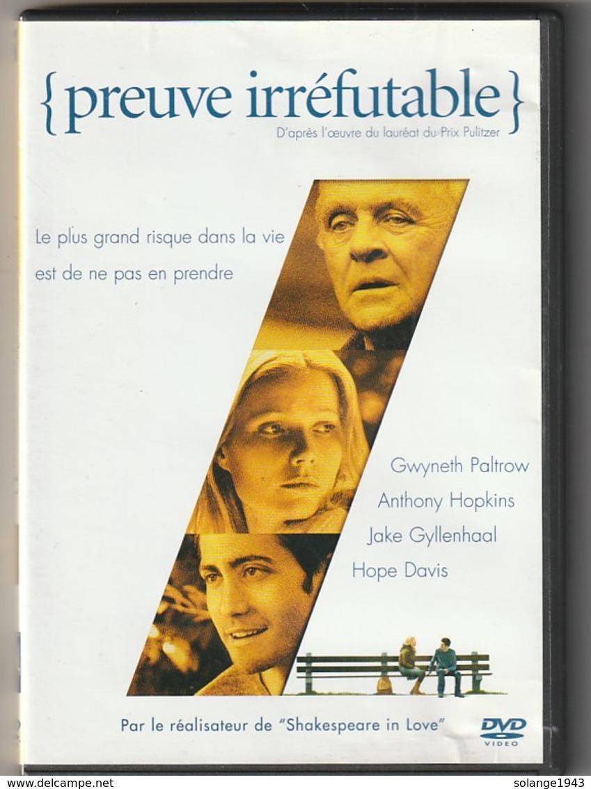 DVD  Preuve Irréfutable Avec Anthony Hopkins   Etat: TTB Port 110 Gr Ou 30 Gr - Policiers