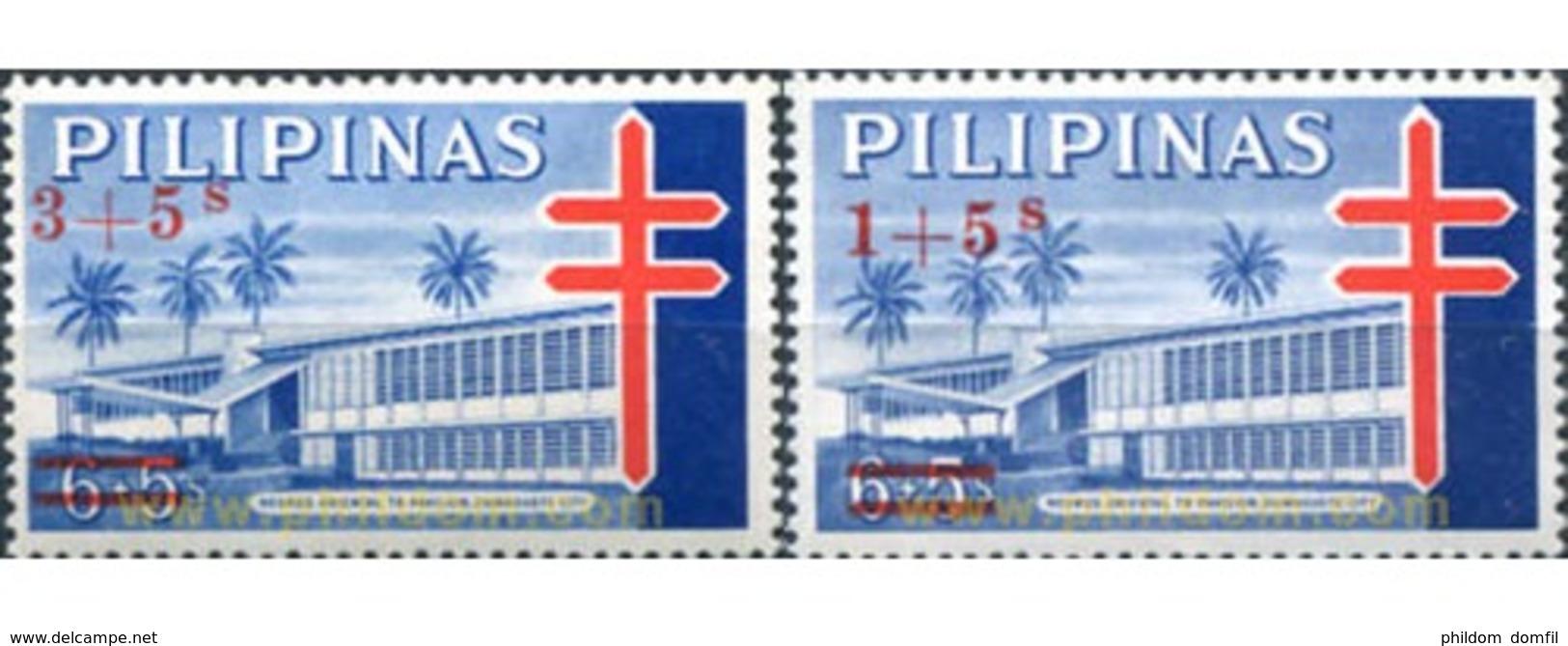 Ref. 312888 * MNH * - PHILIPPINES. 1965. TUBERCULOSIS - Filipinas