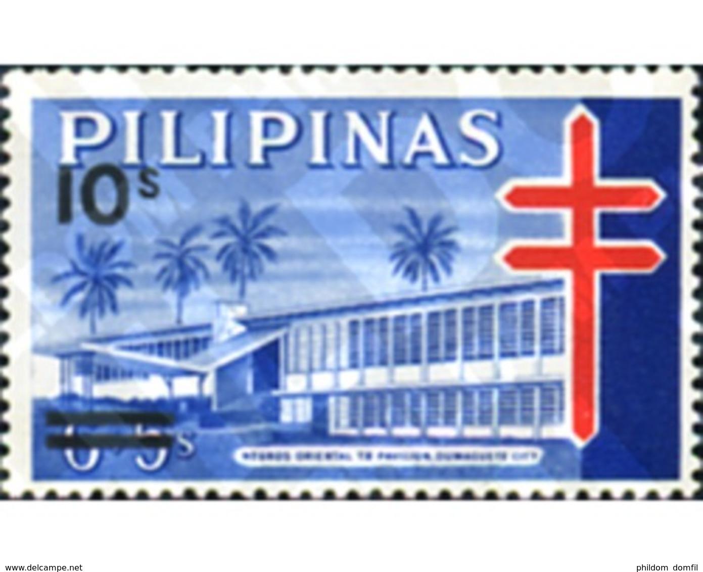 Ref. 313289 * MNH * - PHILIPPINES. 1982. FIGHT AGAINST TUBERCULOSIS . LUCHA CONTRA LA TUBERCULOSIS - Filipinas