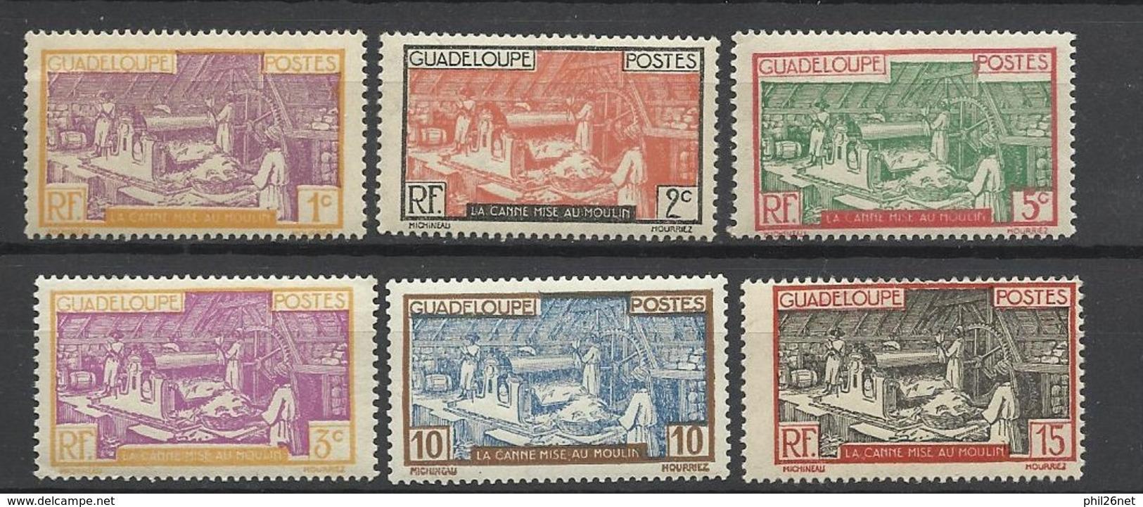 Guadeloupe  Poste N° 99  ; 100;  102 à 104 Et 147 Neufs * * Et Neufs *   B/TB  Soldé à  Moins De 20 % ! ! ! - Guadeloupe (1884-1947)