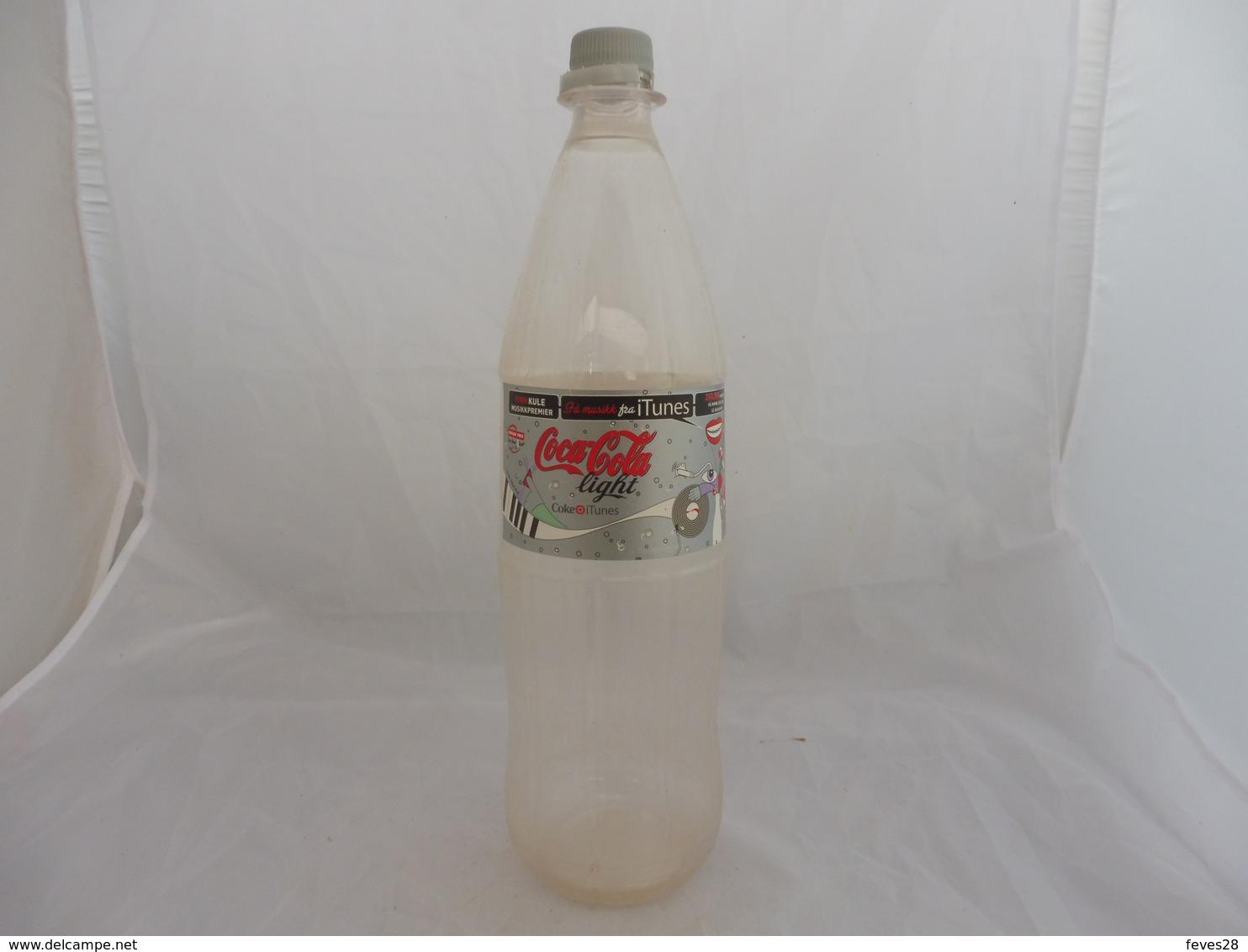 COCA COLA® LIGHT BOUTEILLE PLASTIQUE VIDE 2007 NORVEGE 1.5L - Bouteilles