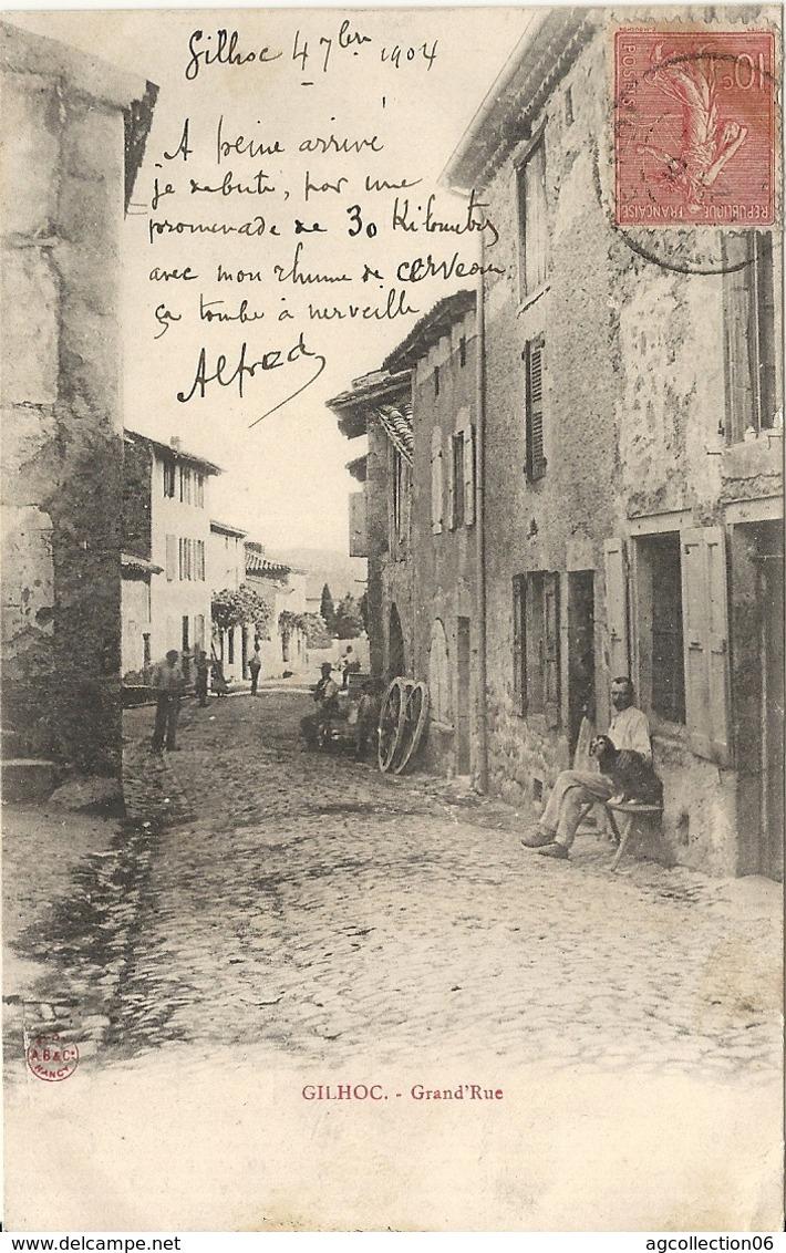 *GILHOC. GRANDE RUE - Autres Communes