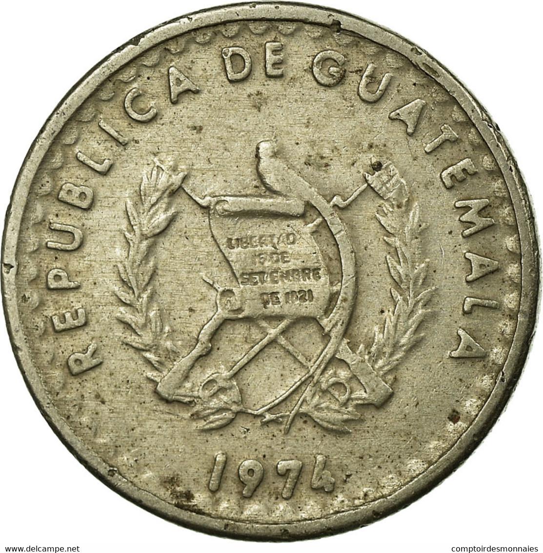 Monnaie, Guatemala, 5 Centavos, 1974, TTB, Copper-nickel, KM:270 - Guatemala