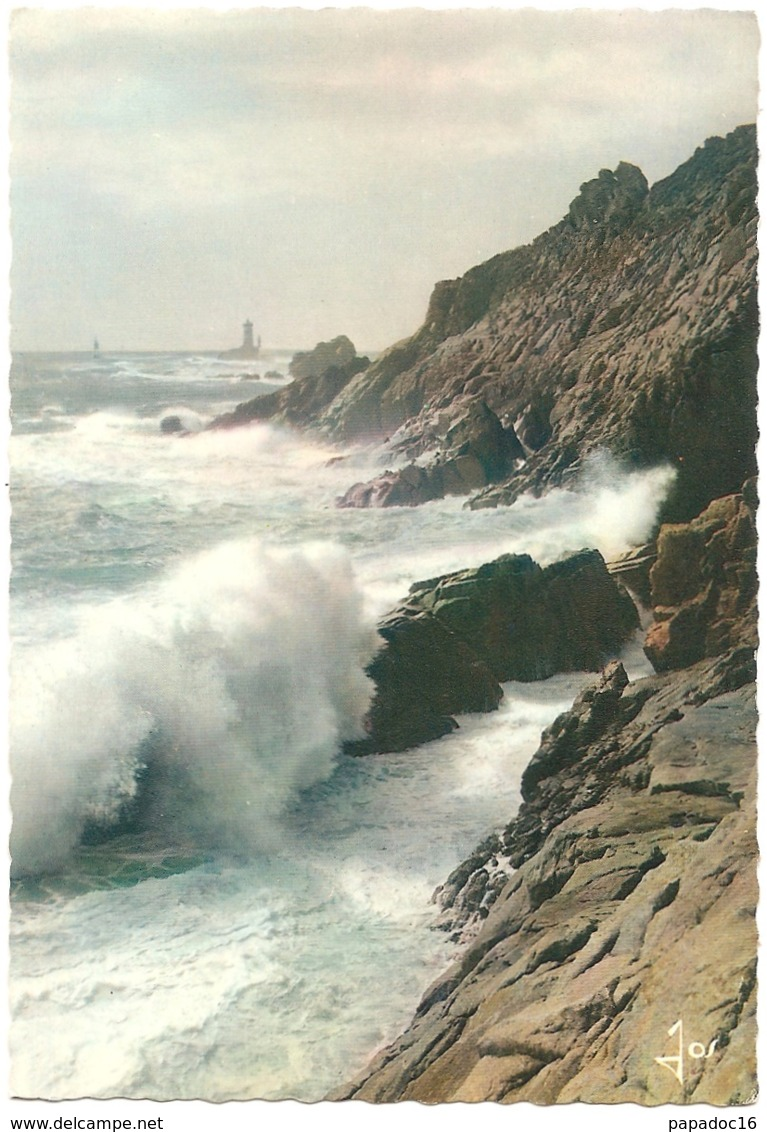 "29 - Grosse Mer à La Pointe Du Raz - éd. D'Art Jos ""La Bretagne En Couleurs"" N° MX 433 -non Circ.) - La Pointe Du Raz"
