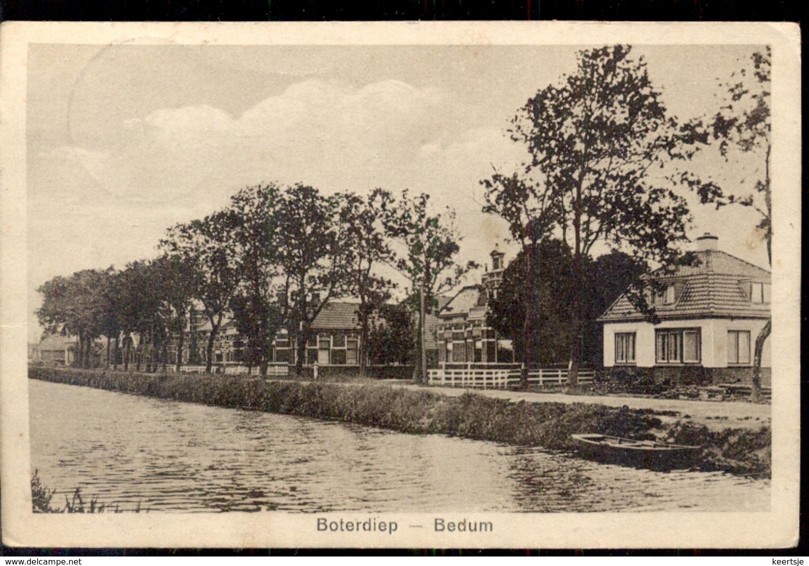 Boterdiep - Bedum - 1930 - Nederland