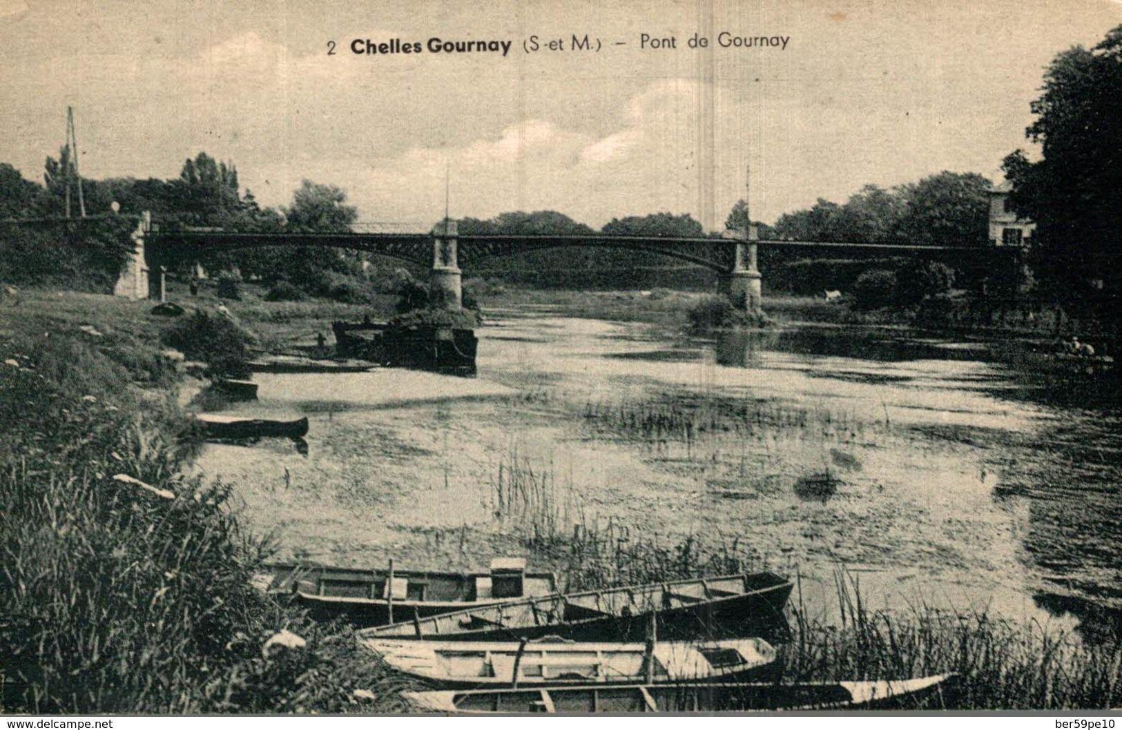 77 CHELLES  GOURNAY  PONT DE GOURNAY - Chelles